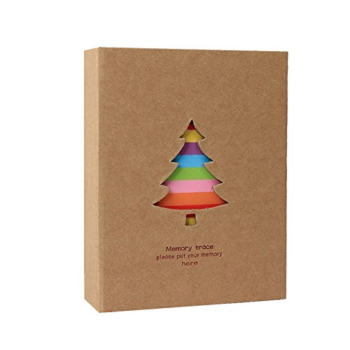Forusky 200 Pockets Libro de álbum de la cámara ancha instantánea para...