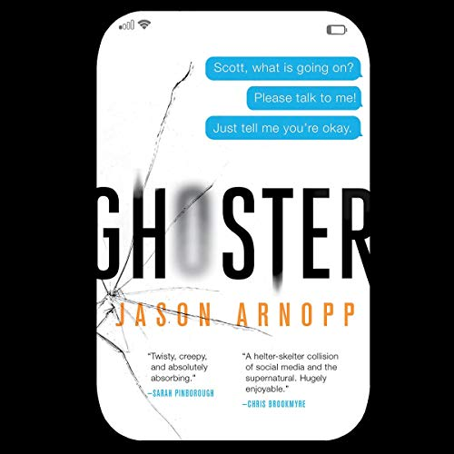 Ghoster audiobook cover art