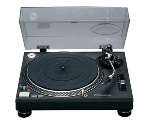 Technics SL 1210 MK 2 Plattenspieler schwarz