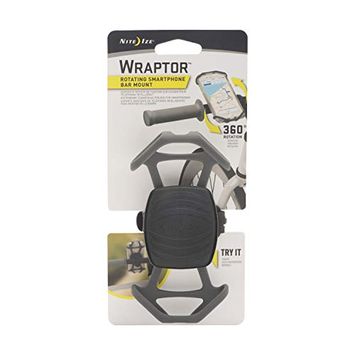 Nite Ize Wraptor, Rotating Smartphone Bar Mount