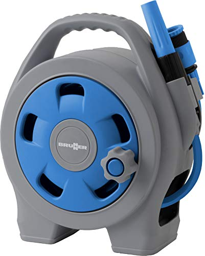 BRUNNER 7203133N Schlauchtrommel, Blau/Grau