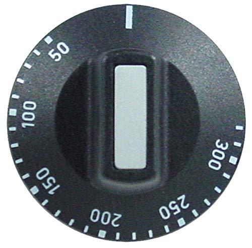 Knebel 50-300 °C für Thermostat Drehknopf EGO 00.00524.891