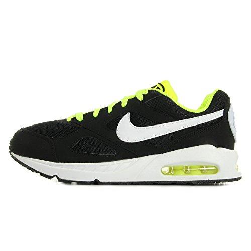 Nike Air Max IVO (GS), Chaussures de Running garçon, Noir (Noir/Blanc-Volt), 35 1/2