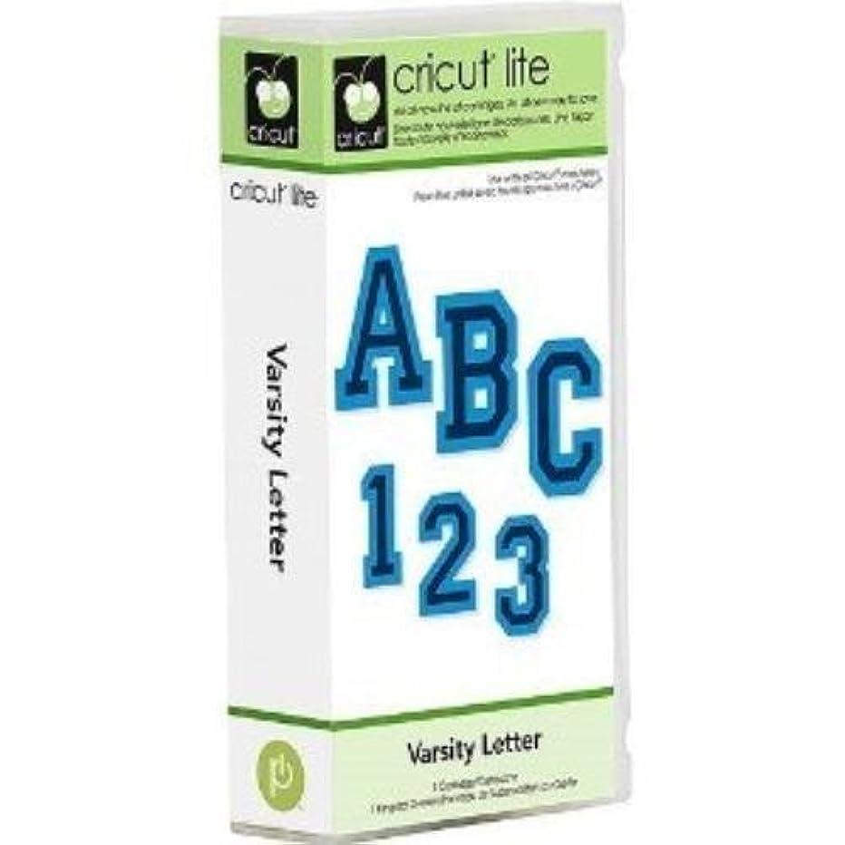 Cricut Lite Varsity Letter Cartridge