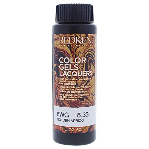 Redken Color Gels Lacquers Haarfarbe 8WG GOLDEN APRICOT