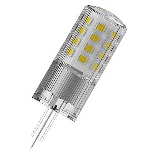 OSRAM LED Superstar PIN, Sockel: G9, Dimmbar, Warmweiß, Ersetzt eine herkömmliche 40 Watt Lampe, Klar, 9er-Pack