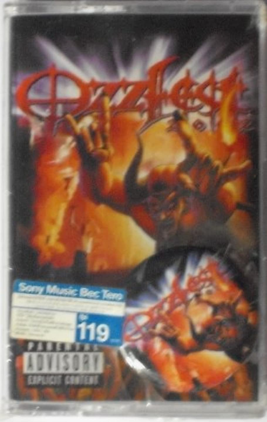 Ozzfest Live 2002 + Button Pin