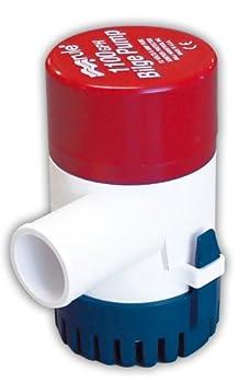 Rule 27D 1100 GPH Marine Bilge Pump Non-Automatic Submersible 12 Volt