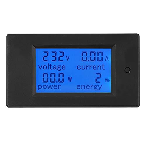 Tester AC 20A Strömspänningsmätare Stabilitet Energi Voltmeter för fabrik för industri med spänningstestområde 80~260V