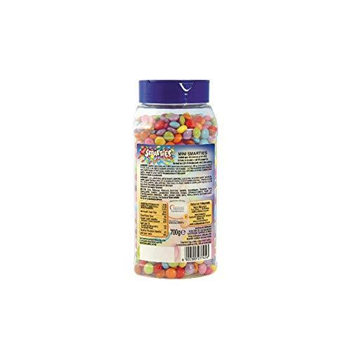 Mini Smarties al cioccolato al latte Nestlè confezione da 700 gr per dolci gelato yogurt milk...
