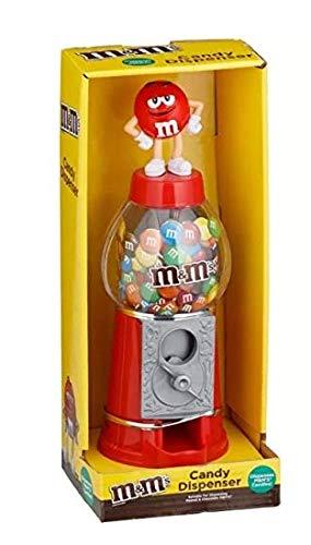 M&M Chocolate Candy Dispensador de máquina y dinero banco 9' – rojo