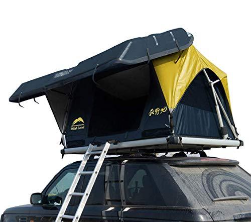 Zelt Hartschalen-Dachzelt automatisches elektrisches Zelt für Campingautos - Bluetooth-Fernbedienung für Mobiltelefone Selbstfahrer-Tour im Freien - Autoausrüstung