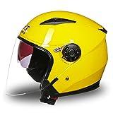 OLEEKA Casco da motociclista a doppia lente Casco integrale Casco Racing Capacete con visiera parasole Caschi da moto