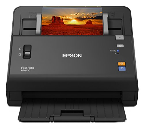 For Sale! Epson FastFoto FF-640 High-Speed Photo Scanning System with Auto Photo Feeder (Renewed)