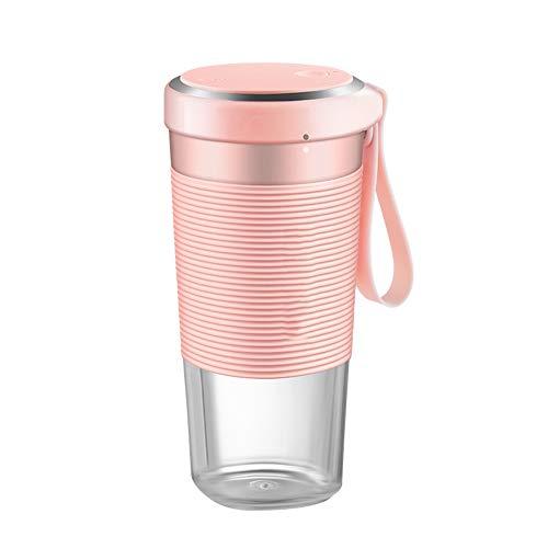 Blankspace Taza portátil del exprimidor, taza del juicer de la fruta del hogar, taza eléctrica del jugo, mini máquina de cocina portátil, rosa