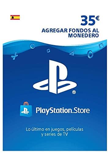 Sony, PlayStation - Tarjeta Prepago PSN 35€ | PS5/PS4/PS3 | Código de descarga PSN - Cuenta española