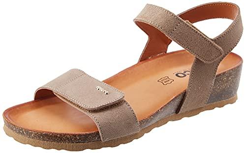 IGI&CO DSM 71856, Sandalia Mujer, marrón, 41 EU