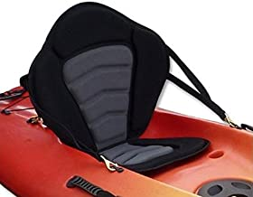 Pactrade Marine Adjustable Padded Deluxe Kayak Seat Detachable Back Backpack/Bag Canoe Backrest