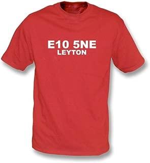E10 5NE Leyton T-Shirt Leyton Orient