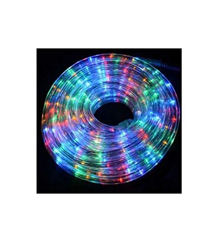 giocoplast Natale 154 10735 – Réglette LED multicolore 144 LED, avec jeux de lumières, 6 mètres)