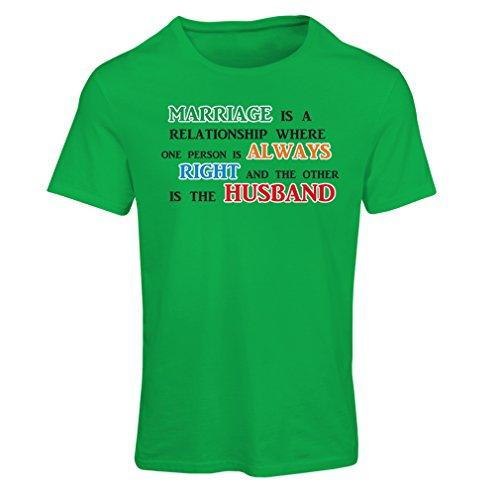 lepni.me Camiseta para Mujer Día De la Boda Despedida de Soltera o Regalo Divertido de Aniversario (Medium Verde Multicolor)