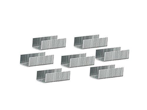 AGT Tackerklammern: 1000 Heftklammern, 11,3 mm Breite und 8 mm Länge (Klammer)