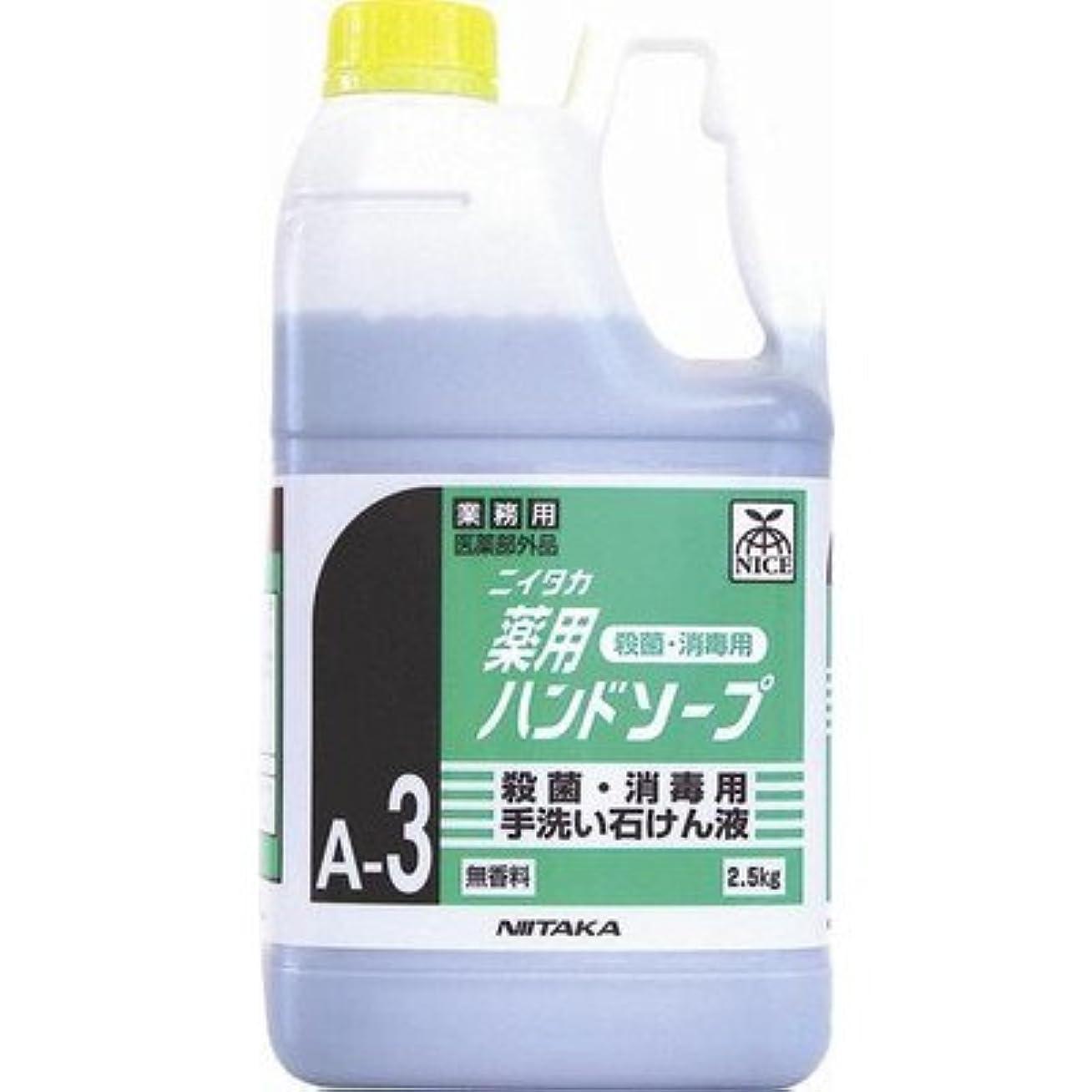 論理的に器官最適ニイタカ 業務用手洗い石けん液 薬用ハンドソープ(A-3) 2.5kg×6本