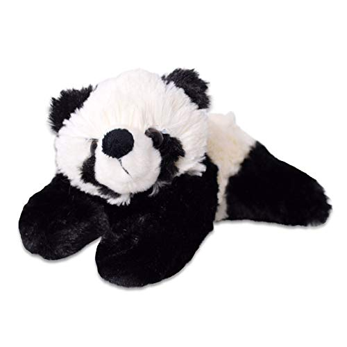 TE-Trend Plüschtier Kleiner Panda Kuscheltier Pandabär Bär Teddy Teddybär Mitbringsel Geschenk 20cm liegend Mehrfarbig
