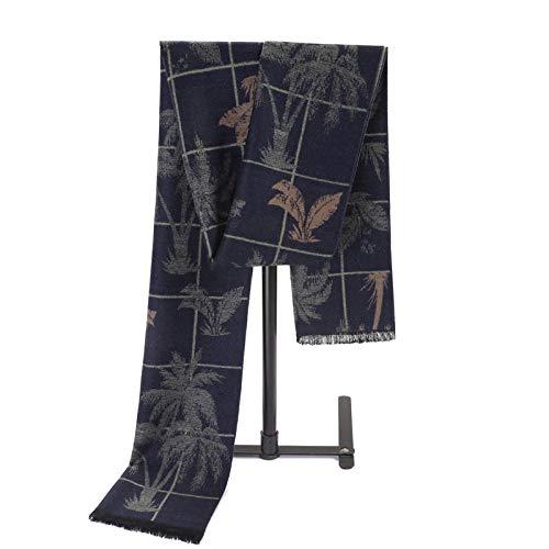 TaoRan sjaal voor herfst en winter Europese en Amerikaanse sjaal met kasjmier van zijde, geborsteld, jacquard, warme sjaal