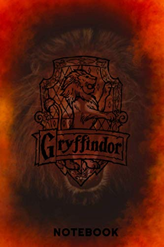 Harry Potter: Gryffindor | Notebook , Journal | Perfect for Birthday gifts and Fan club members: Perfectly Lined journal ,120 pages , 6x9 inches
