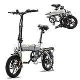 HITWAY Elektrofahrrad E Bike Pedelec Cityräder Klapprad Fahrrad aus Luftfahrtaluminium, 7,5Ah...