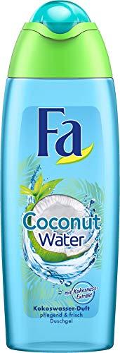 FA Duschgel Coconut Water mit Kokosnuss-Extrakt und Kokoswasser-Duft, 1er Pack (1 x 250 ml)