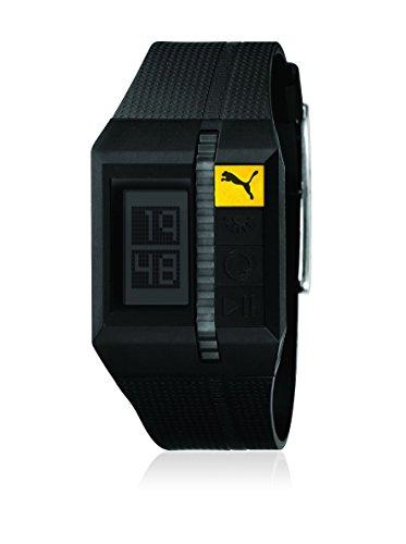 Puma 289100125PU910511004 - Reloj Digital de Cuarzo para Hombre, Correa de plástico Color Negro