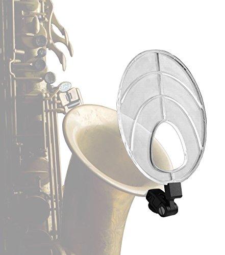 Deflector de sonido para saxofón, de la marca saXholder