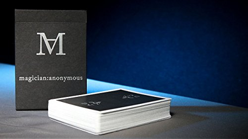 Magician's Anonymous Playing Cards by US Playing Cards, Cool Collectable Cards, Custom Design Decks, Cards For Magicians, Designer Deck