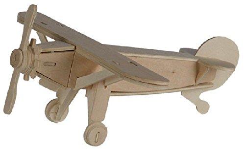 Out of the blue - Puzzle Bois 3D Avion Nostalgic – 13 x 19 cm