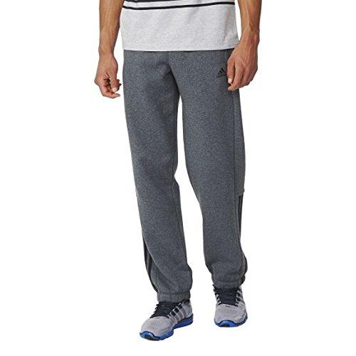 adidas ESS Mid CB Pantalón chándal, Hombre, Gris (Brgros/Negro), S/L
