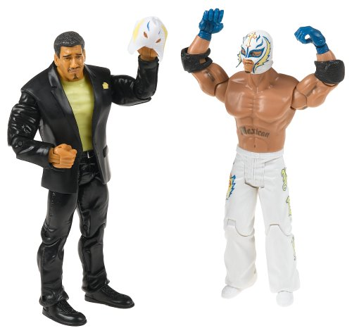 WWE Adrenaline Series 15 Eddie Guerrero & Rey Mysterio w/Ripped Mask 2-Pack Action Figures