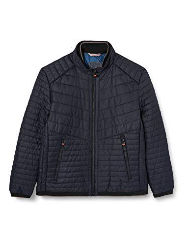 Calamar Herren Steppblouson Jacke, Blau (Navy Black 40), X-Large (Herstellergröße: 54)