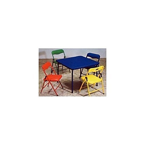 Product Image of the Bracelet Babies Children's Folding Table & Folding Chairs Furniture Set