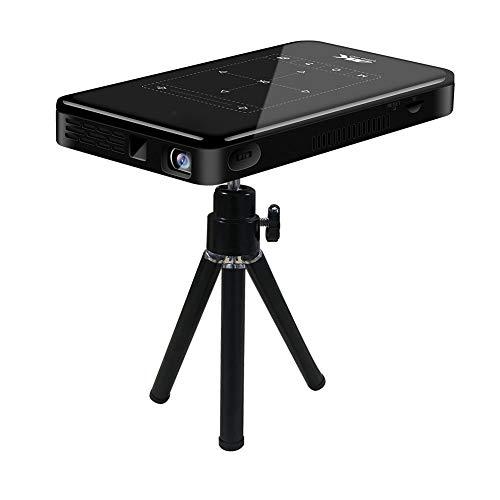 Huairdum Proyector portátil de Alta definición, Mini Reproductor de Medios portátil de...
