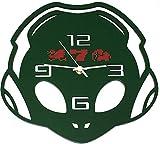 エイリやん 手作り壁掛け時計 完全受注生産品