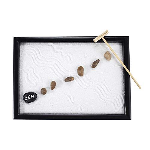 GR037 - Kit de decoración de mesa de jardín Zen con accesorios