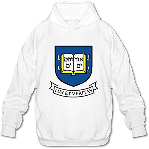 Timika Campbell Men's Yale University Hoodies Sweatshirt White