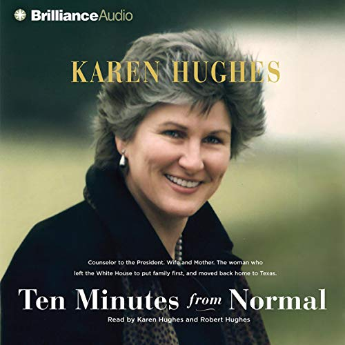 Ten Minutes from Normal audiobook cover art
