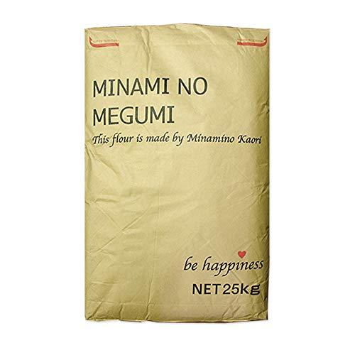 強力粉 南のめぐみ 九州産 国産パン用小麦粉 熊本製粉 業務用 25kg