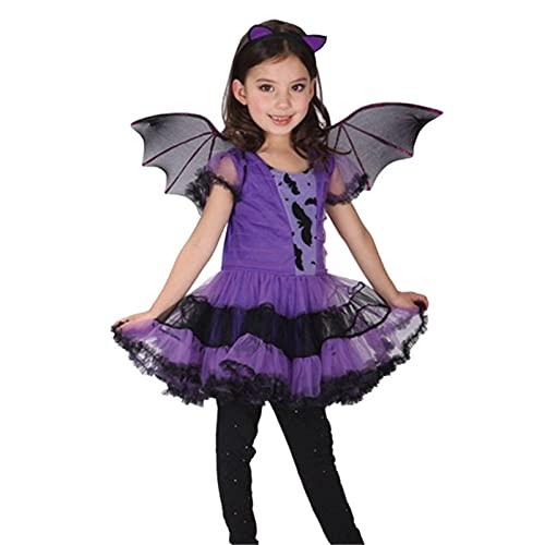 Disfraz de bruja para nias, disfraz clsico de bruja para nias, disfraz de Halloween para nios, bruja de cuento de hadas, disfraz de bruja linda, trajes de cosplay muy utilizados para nios