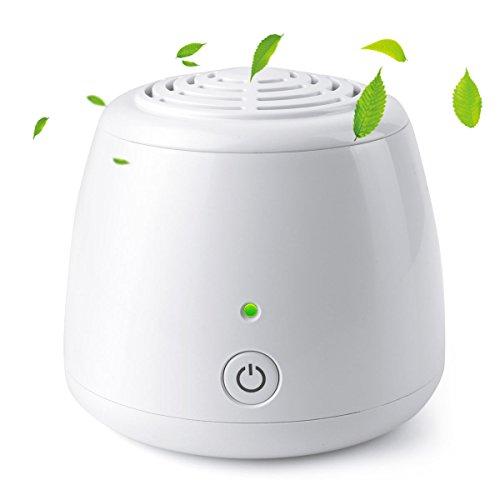 Mini Purificador de Aire , Generador de Ozono para Coche / Armario / Zapatero / Nevera / Armario / Nevera Quitar los Olores para un Espacio Pequeño -Uvistare