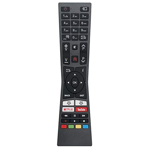 VINABTY RM-C3331 RCA2A43100 Mando a Distancia de Repuesto para televisores LED Inteligentes JVC 2018 2019 LT55VU63M LT40VF52M LT55V65LUA LT40V55LU