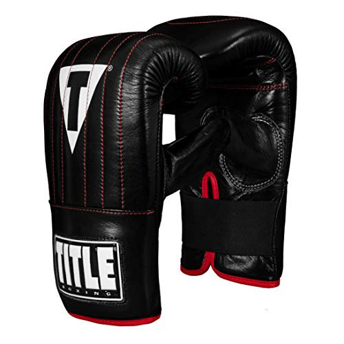 Title Boxing Pro Leather Speed Bag Gloves 3.0